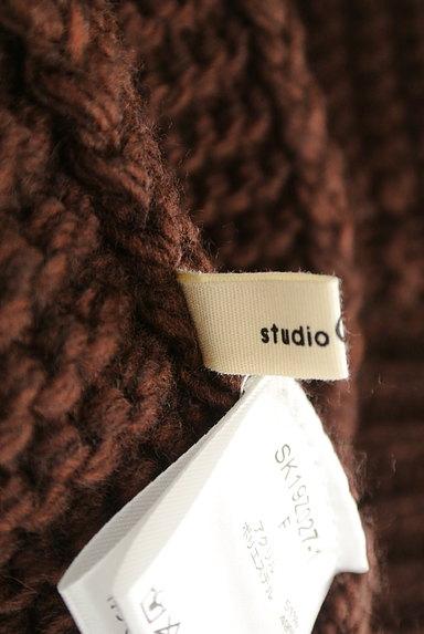 studio CLIP(スタディオクリップ)の古着「ショート丈ケーブル編みカーディガン(カーディガン・ボレロ)」大画像6へ