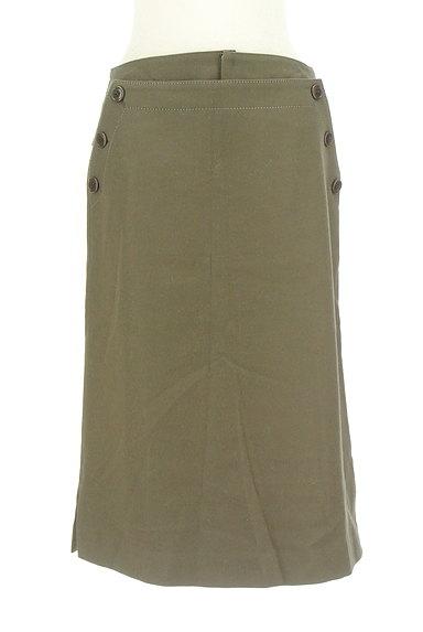 GALERIE VIE(ギャルリーヴィー)の古着「サイドボタンウールタイトスカート(スカート)」大画像1へ