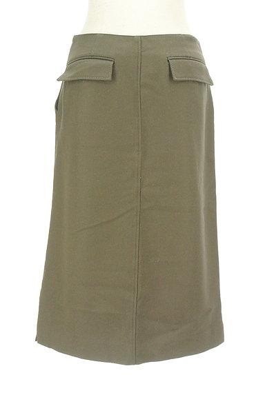 GALERIE VIE(ギャルリーヴィー)の古着「サイドボタンウールタイトスカート(スカート)」大画像2へ