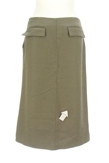 GALERIE VIE(ギャルリーヴィー)の古着「サイドボタンウールタイトスカート(スカート)」大画像4へ