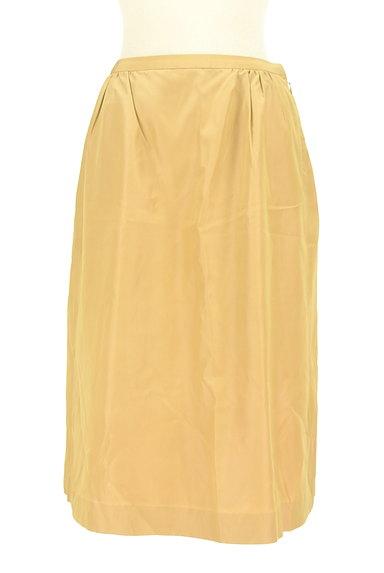 UNITED ARROWS(ユナイテッドアローズ)の古着「艶サテン膝下丈フレアスカート(スカート)」大画像1へ