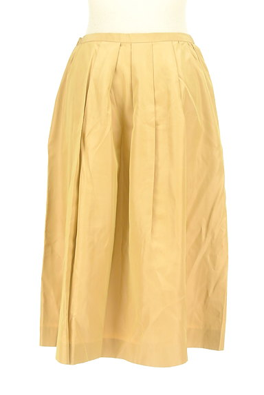 UNITED ARROWS(ユナイテッドアローズ)の古着「艶サテン膝下丈フレアスカート(スカート)」大画像2へ