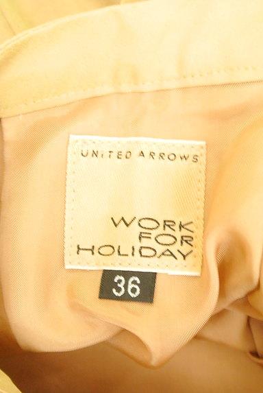 UNITED ARROWS(ユナイテッドアローズ)の古着「艶サテン膝下丈フレアスカート(スカート)」大画像6へ