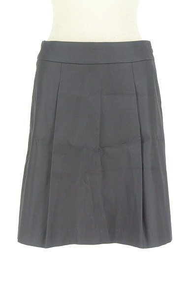 M-premier(エムプルミエ)の古着「微光沢タックフレアスカート(ミニスカート)」大画像1へ
