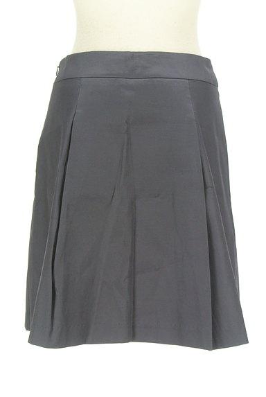 M-premier(エムプルミエ)の古着「微光沢タックフレアスカート(ミニスカート)」大画像2へ
