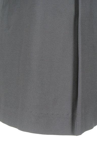 M-premier(エムプルミエ)の古着「微光沢タックフレアスカート(ミニスカート)」大画像5へ