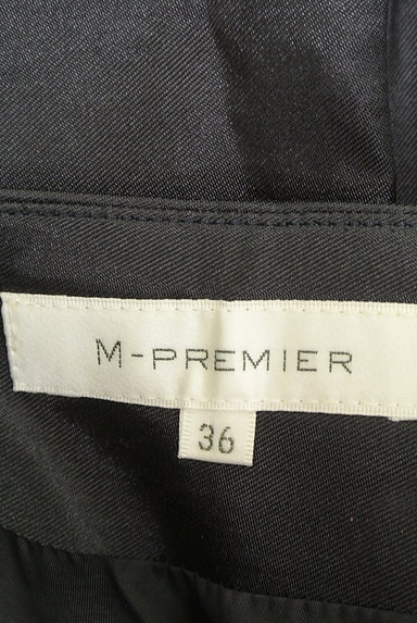 M-premier(エムプルミエ)の古着「微光沢タックフレアスカート(ミニスカート)」大画像6へ