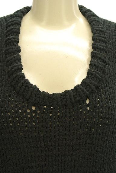 MERCURYDUO(マーキュリーデュオ)の古着「シンプルロング丈ニット(ニット)」大画像4へ