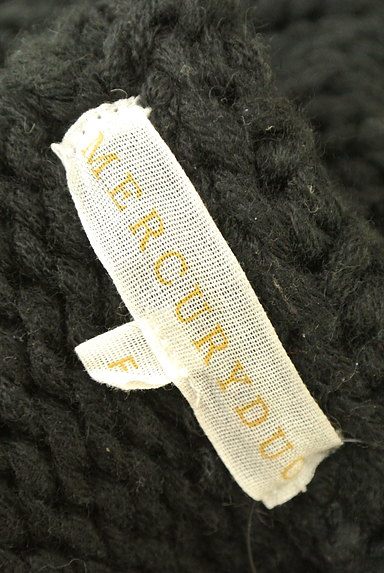 MERCURYDUO(マーキュリーデュオ)の古着「シンプルロング丈ニット(ニット)」大画像6へ