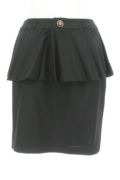 MISCH MASCH(ミッシュマッシュ)の古着「ペプラムタイトスカート(ミニスカート)」大画像1へ