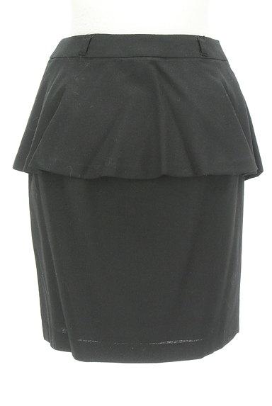 MISCH MASCH(ミッシュマッシュ)の古着「ペプラムタイトスカート(ミニスカート)」大画像2へ