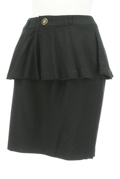 MISCH MASCH(ミッシュマッシュ)の古着「ペプラムタイトスカート(ミニスカート)」大画像3へ