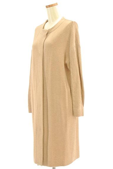 ATSURO TAYAMA(アツロウ タヤマ)の古着「ノーカラー比翼ロングコート(カーディガン・ボレロ)」大画像3へ