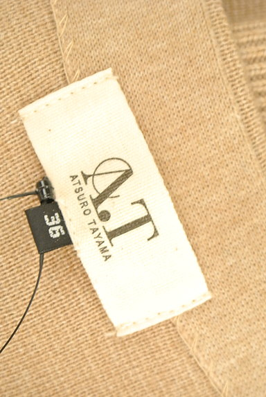ATSURO TAYAMA(アツロウ タヤマ)の古着「ノーカラー比翼ロングコート(カーディガン・ボレロ)」大画像6へ