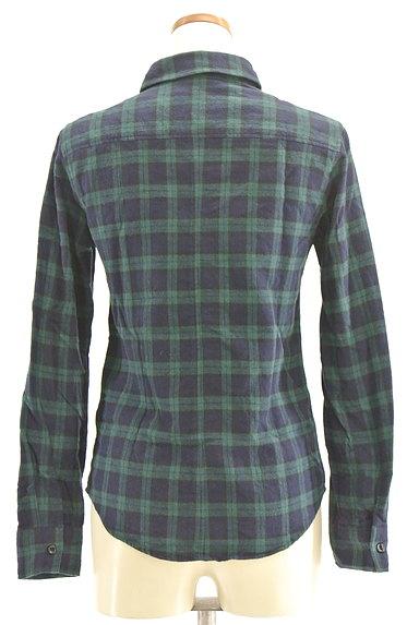 NINE(ナイン)の古着「チェック柄フランネルシャツ(カジュアルシャツ)」大画像2へ