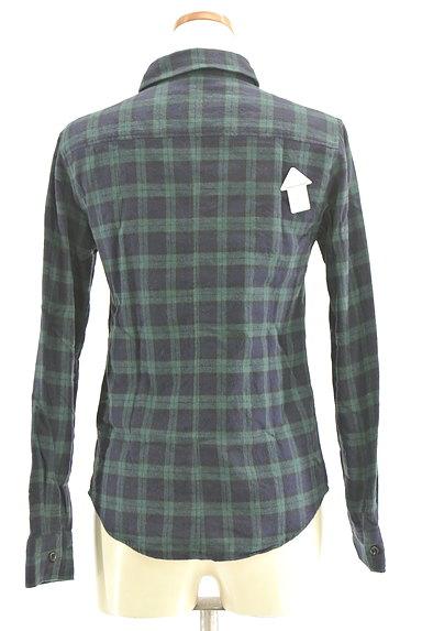 NINE(ナイン)の古着「チェック柄フランネルシャツ(カジュアルシャツ)」大画像4へ