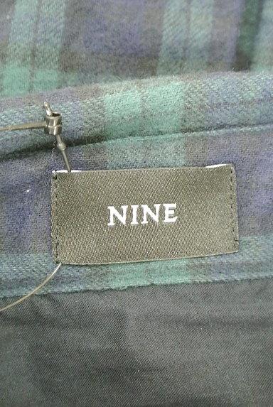 NINE(ナイン)の古着「チェック柄フランネルシャツ(カジュアルシャツ)」大画像6へ