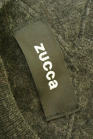 ZUCCa(ズッカ)の古着「シンプルニットワンピース(ワンピース・チュニック)」大画像6へ