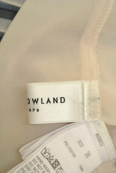 TOMORROWLAND(トゥモローランド)の古着「アコーディオンプリーツシフォンブラウス(カットソー・プルオーバー)」大画像6へ