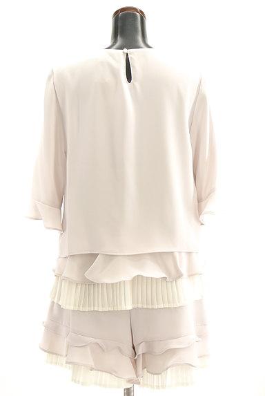 Rirandture(リランドチュール)の古着「ティアードフリル七分袖アンサンブル(セットアップ(ジャケット+パンツ))」大画像2へ