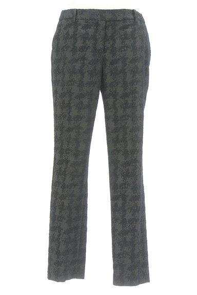 TOMORROWLAND(トゥモローランド)の古着「総柄テーパードパンツ(パンツ)」大画像1へ