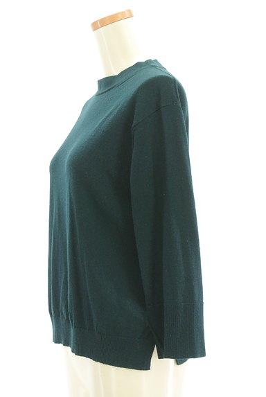 HUMAN WOMAN(ヒューマンウーマン)の古着「サイドスリットニット(ニット)」大画像3へ