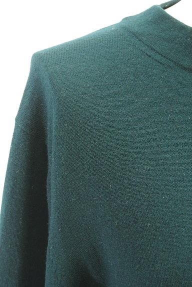 HUMAN WOMAN(ヒューマンウーマン)の古着「サイドスリットニット(ニット)」大画像4へ