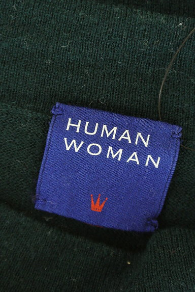 HUMAN WOMAN(ヒューマンウーマン)の古着「サイドスリットニット(ニット)」大画像6へ