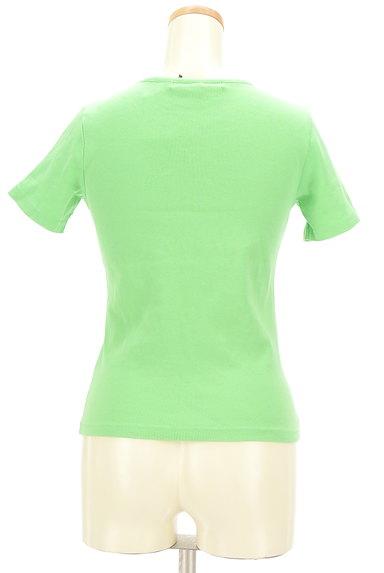 TOMMY HILFIGER(トミーヒルフィガー)の古着「フロッキープリントTシャツ(Tシャツ)」大画像2へ