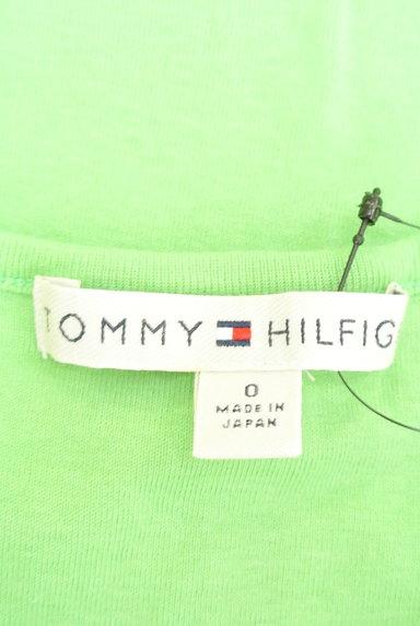 TOMMY HILFIGER(トミーヒルフィガー)の古着「フロッキープリントTシャツ(Tシャツ)」大画像6へ