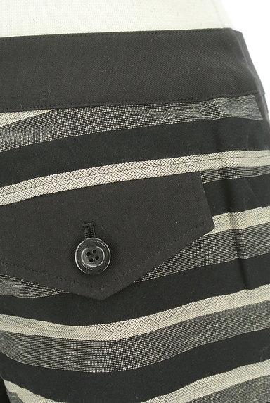 VICKY(ビッキー)の古着「ボーダーショートパンツ(ショートパンツ・ハーフパンツ)」大画像4へ