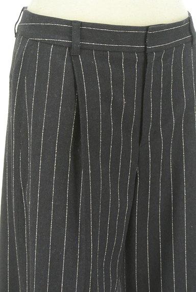 UNTITLED(アンタイトル)の古着「ストライプ柄ハイウエストワイドパンツ(パンツ)」大画像4へ
