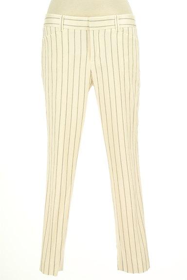 UNTITLED(アンタイトル)の古着「ストライプ柄テーパードパンツ(スカート)」大画像1へ