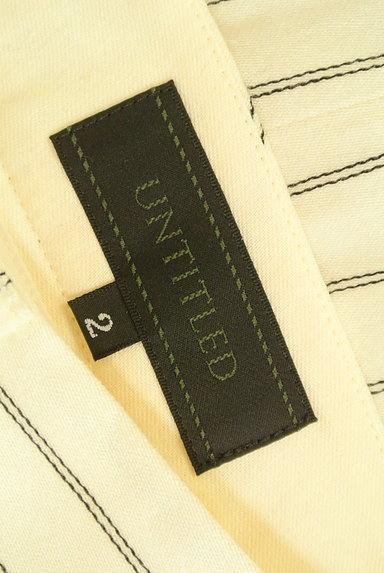 UNTITLED(アンタイトル)の古着「ストライプ柄テーパードパンツ(スカート)」大画像6へ