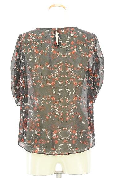 UNTITLED(アンタイトル)の古着「ラメドット刺繍シアーブラウス(カットソー・プルオーバー)」大画像2へ
