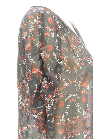 UNTITLED(アンタイトル)の古着「ラメドット刺繍シアーブラウス(カットソー・プルオーバー)」大画像4へ