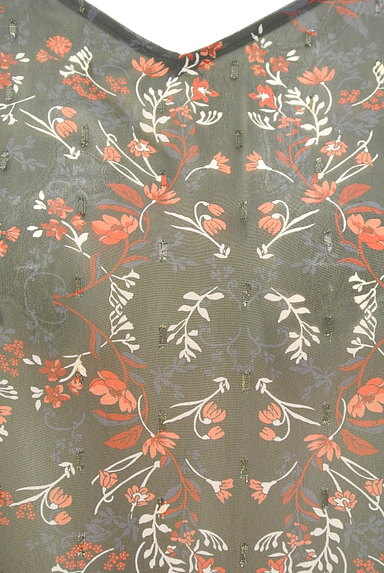 UNTITLED(アンタイトル)の古着「ラメドット刺繍シアーブラウス(カットソー・プルオーバー)」大画像5へ