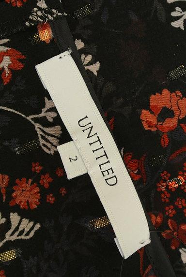 UNTITLED(アンタイトル)の古着「ラメドット刺繍シアーブラウス(カットソー・プルオーバー)」大画像6へ