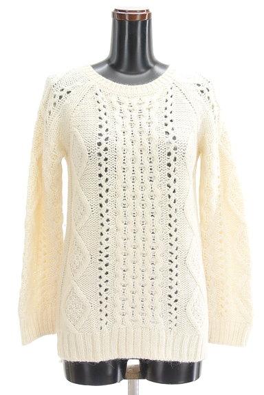 UNTITLED(アンタイトル)の古着「透かし編みケーブルニット(セーター)」大画像1へ