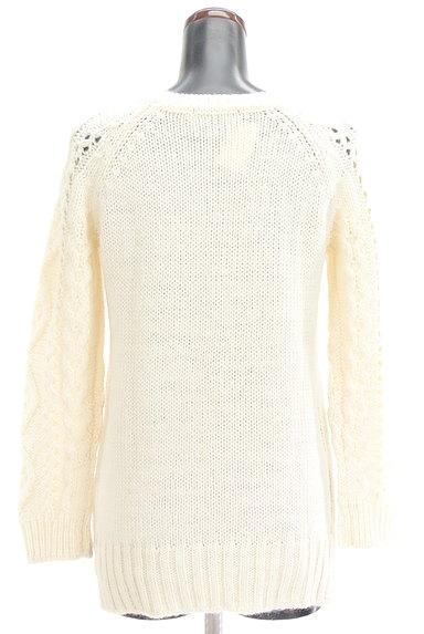 UNTITLED(アンタイトル)の古着「透かし編みケーブルニット(セーター)」大画像2へ