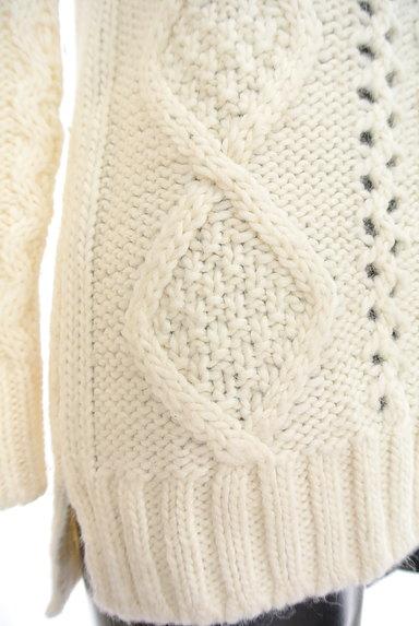 UNTITLED(アンタイトル)の古着「透かし編みケーブルニット(セーター)」大画像5へ
