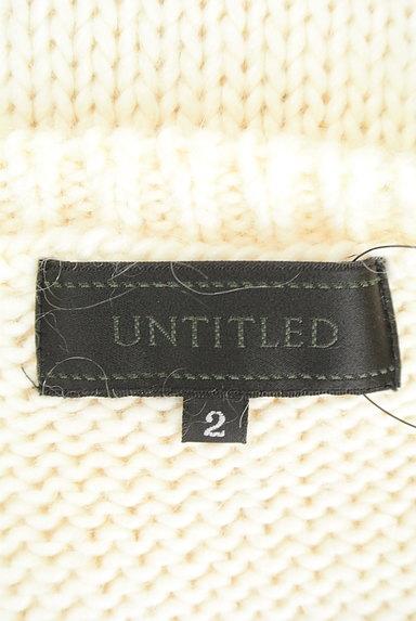 UNTITLED(アンタイトル)の古着「透かし編みケーブルニット(セーター)」大画像6へ