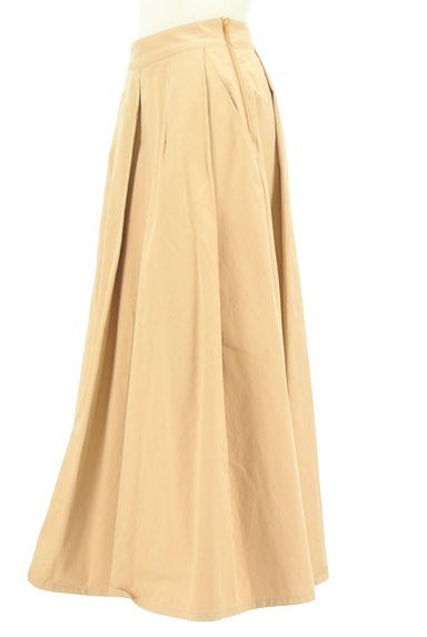 Brahmin(ブラーミン)の古着「タックフレアマキシスカート(ロングスカート・マキシスカート)」大画像3へ