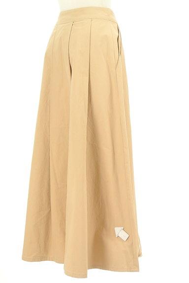 Brahmin(ブラーミン)の古着「タックフレアマキシスカート(ロングスカート・マキシスカート)」大画像4へ