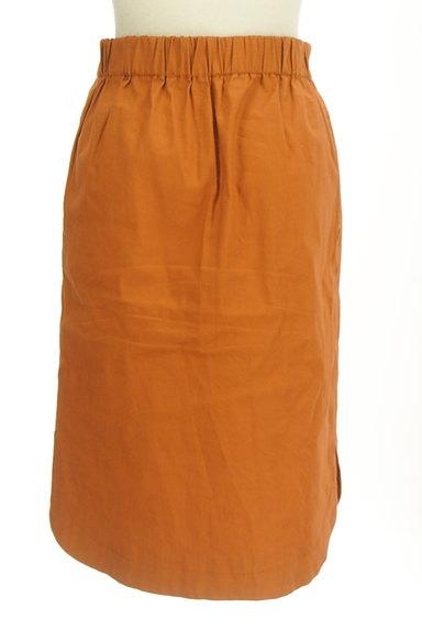 BABYLONE(バビロン)の古着「ラウンドヘムタイトスカート(スカート)」大画像2へ