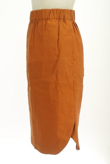 BABYLONE(バビロン)の古着「ラウンドヘムタイトスカート(スカート)」大画像3へ