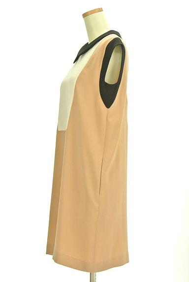 Tiara(ティアラ)の古着「襟付きバイカラーワンピース(ワンピース・チュニック)」大画像3へ