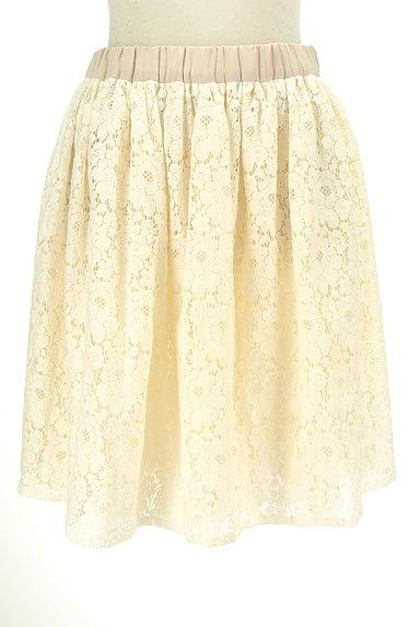 Tiara(ティアラ)の古着「総レースフレアスカート(スカート)」大画像1へ