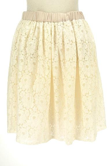 Tiara(ティアラ)の古着「総レースフレアスカート(スカート)」大画像2へ