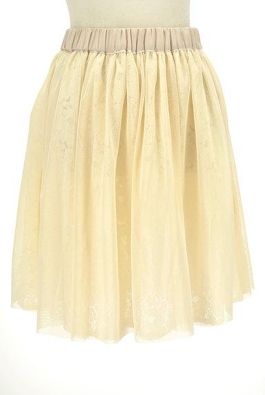 Tiara(ティアラ)の古着「総レースフレアスカート(スカート)」大画像5へ